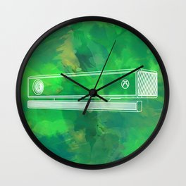 Body tracking sensor Wall Clock