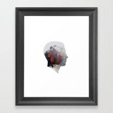 overthinker Framed Art Print