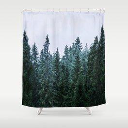 Firs CVEL Shower Curtain
