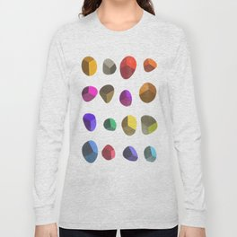 Painted Pebbles 2 Long Sleeve T-shirt