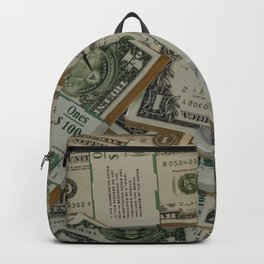 Dollar Bills Backpack