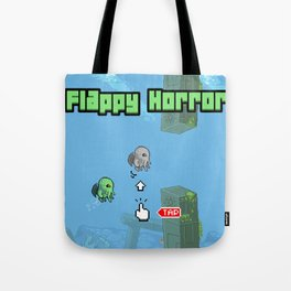 Flappy Horror - Cthulhu! Tote Bag