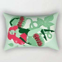 Poison Ivy Pin-up Rectangular Pillow