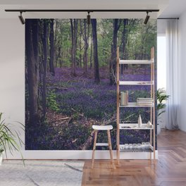 Bluebell Forest Wall Mural
