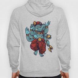 Dancing Ganesha  Hoody
