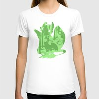 hiccup T-shirts featuring Shadow Dragon by tonksiford