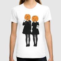 T-shirts featuring Pumpkin Heads by Inbeeswax