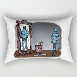 Be who you want. Rectangular Pillow