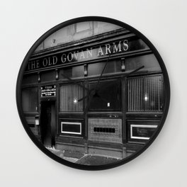 Old Govan Arms, Glasgow Wall Clock
