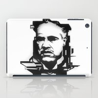 the godfather iPad Cases featuring The GODFATHER by A. Dee