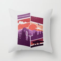 Vanishing Points Throw Pillow