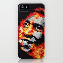 Ginga Fire iPhone Case