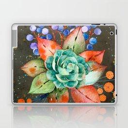 Watercolor floral Blooms Botanical Art #society6 #illusration #nature Laptop & iPad Skin
