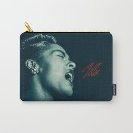 Billie / The great Billie Holiday Carry-All Pouch