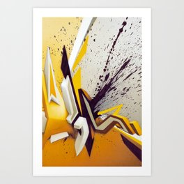 Suchende Geborgenheit Art Print