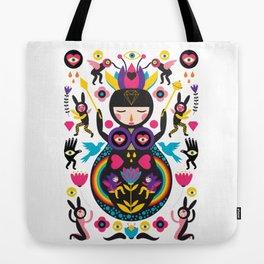 Rainbow Queen Tote Bag