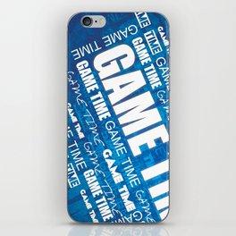 Game Time iPhone Skin