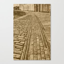 Swanage Pier Tramway 3 Canvas Print