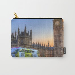 Westminster Bridge Early Evening Carry-All Pouch