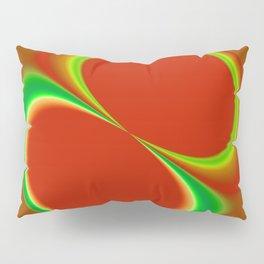 Red Eight Pillow Sham