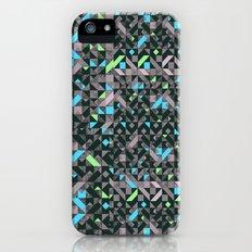 GEOMETRIC GREYS AND BLUES  Slim Case iPhone (5, 5s)