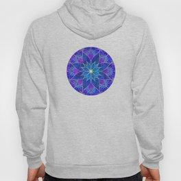 Lotus 2 - blue and purple Hoody