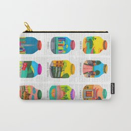 Travel with Colors Carry-All Pouch