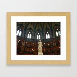 Ottawa Library Framed Art Print