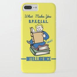 Intelligence S.P.E.C.I.A.L. Fallout 4 iPhone Case