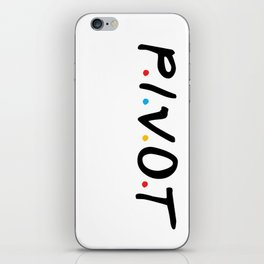 PIVOT iPhone Skin