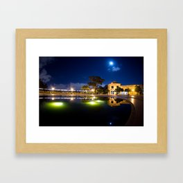Closed For The Night Framed Art Print