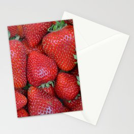 Fresh strawberries Stationery Cards