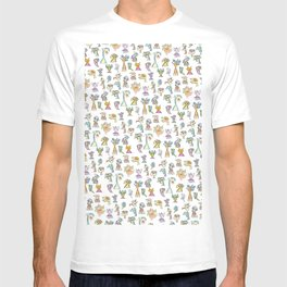 Scribbehead_Montage of Characters T-shirt