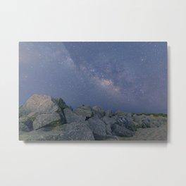 Rocky Milky Way Metal Print