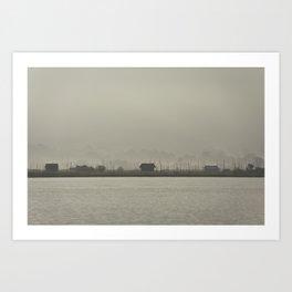 Inle Lake Art Print