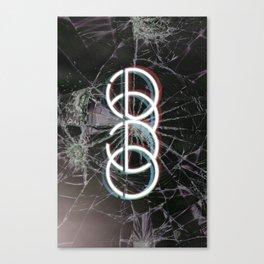 echo type Canvas Print