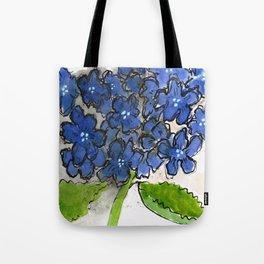 Hydrangeny Tote Bag