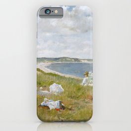 Idle Hours by William Merritt Chase iPhone Case