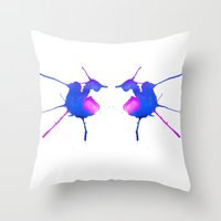 fairies Throw Pillows featuring Fairies by What do YOU see?