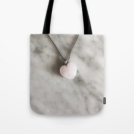 Heart necklace Tote Bag
