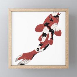 Koi #8 Framed Mini Art Print
