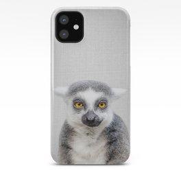 Lemur - Colorful iPhone Case