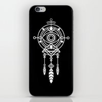 cosmic iPhone & iPod Skins featuring Cosmic Dreamcatcher by Picomodi