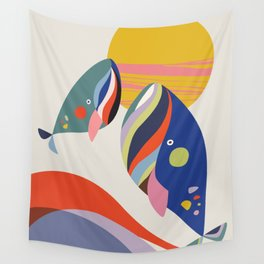 Mother & son Wall Tapestry