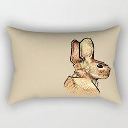 Rabbit One Rectangular Pillow