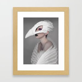 birdgirl Framed Art Print