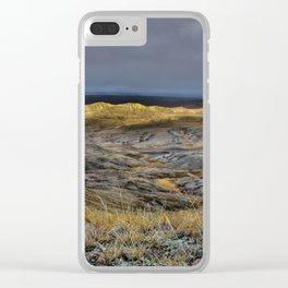 Glorious Grasslands Clear iPhone Case