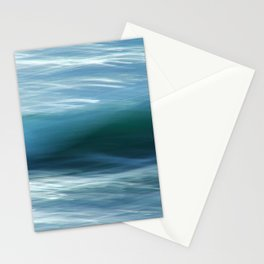 Abstract Waves ICM Stationery Cards