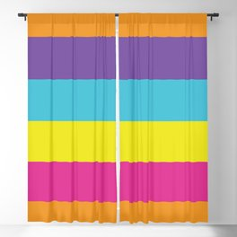 Gender Non-Binary Pride Blackout Curtain