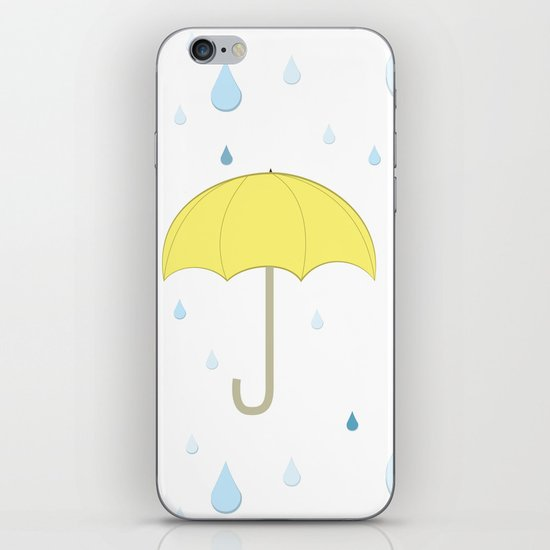 Raindrop Pattern iPhone & iPod Skin